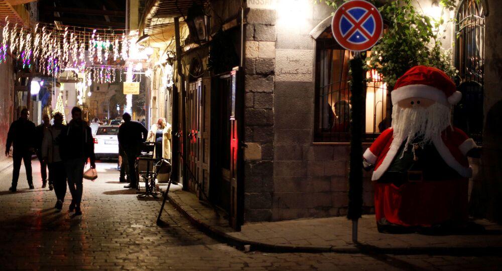 Świąteczny Damaszek