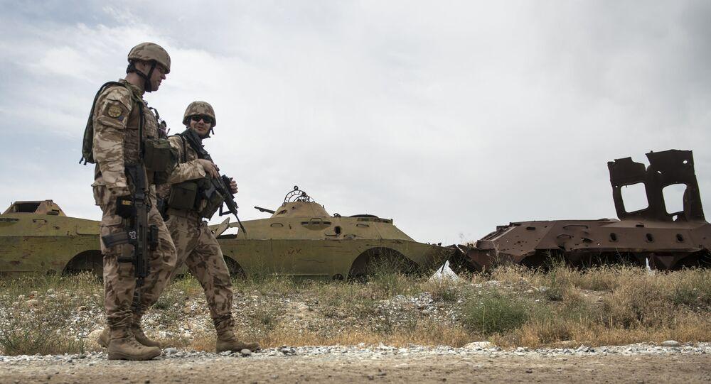 Czescy żołnierze w Afganistanie