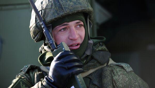 Rosyjski żołnierz - Sputnik Polska