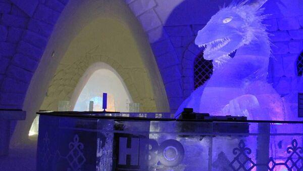 Внутри ледяного отеля Snow Hotel, посвященного сериалу Game of Thrones, а Финляндии - Sputnik Polska