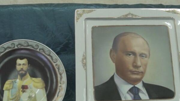 Talerze z Putinem - Sputnik Polska
