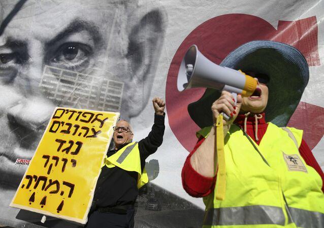Protesty w Izraelu