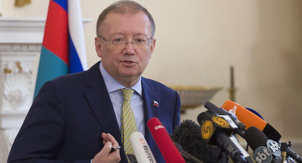 Ambasador Federacji Rosyjskiej w Wielkiej Brytanii Aleksander Jakowienko