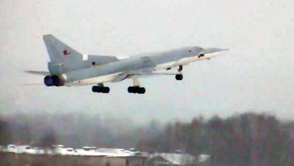 Zmodernizowany Tu-22M3M realizuje swój pierwszy lot - Sputnik Polska