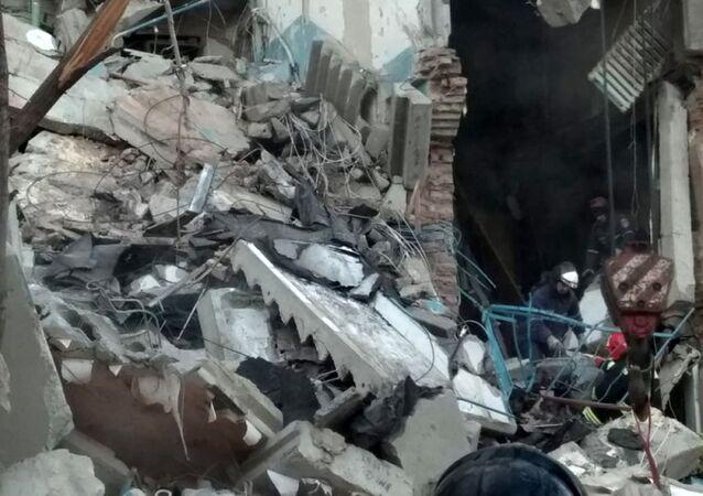 Wybuch gazu w Magnitogorsku