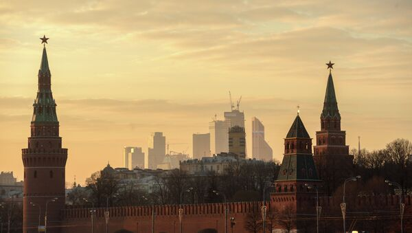 Widok na Kreml od strony rzeki Moskwy - Sputnik Polska