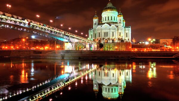 Sobór Chrystusa Zbawiciela w Moskwie - Sputnik Polska