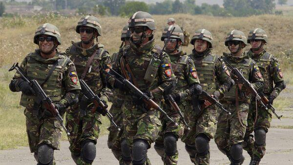 Rumuńscy żołnierze podczas manewrów NATO - Sputnik Polska