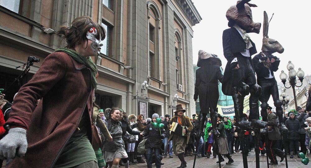Parada w dniu św. Patryka, Moskwa