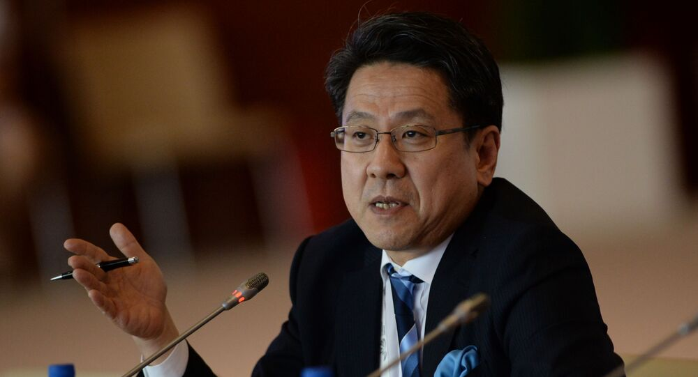 Starszy dyrektor zarządzający Japońskiego Banku Współpracy Międzynarodowej Tadashi Maeda
