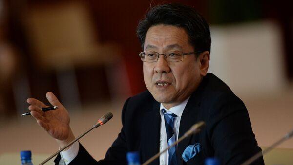 Starszy dyrektor zarządzający Japońskiego Banku Współpracy Międzynarodowej Tadashi Maeda - Sputnik Polska