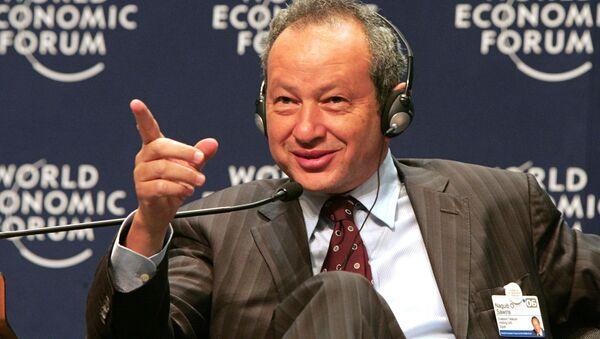 Egipski biznesmen Naguib Saveyris - Sputnik Polska
