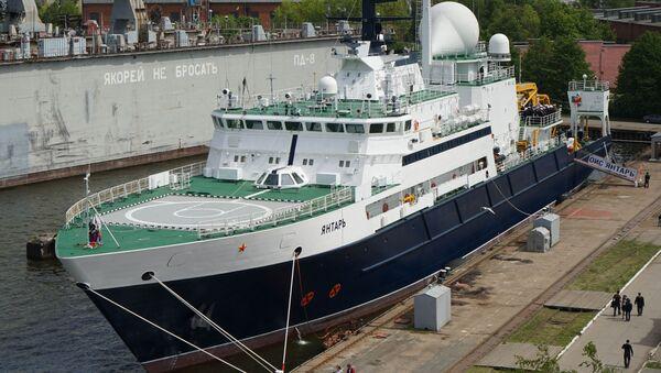 Statek badawczy Jantar - Sputnik Polska