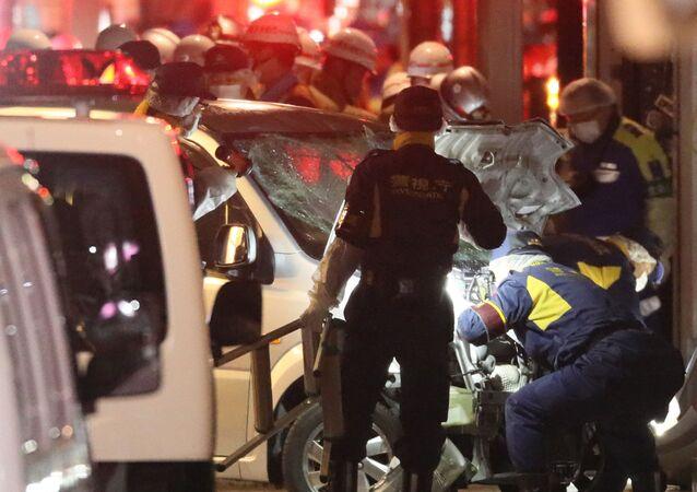 Zamach w sylwestrową noc w Tokio