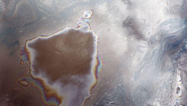 Plama ropy naftowej - Sputnik Polska