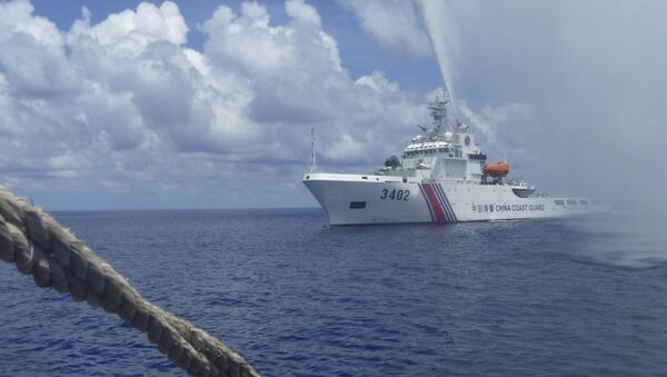 Statek ochrony brzegowej ChRL - Sputnik Polska