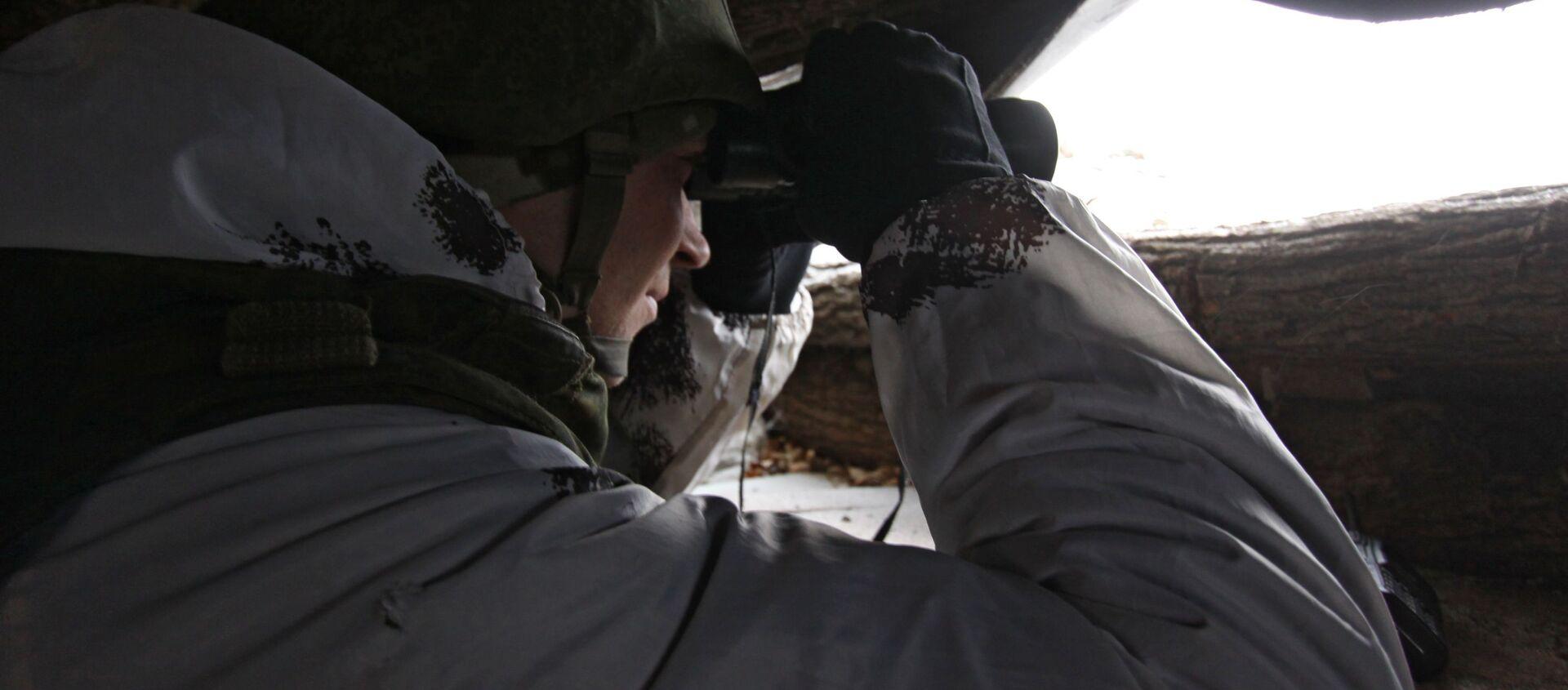 Od 29 grudnia w Donbasie obowiązuje rozejm noworoczny  - Sputnik Polska, 1920, 31.01.2021