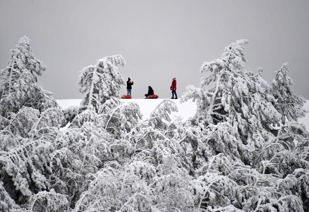 Zimowy odpoczynek na Krymie