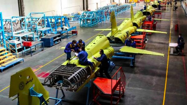 Budowa myśliwców, Iran - Sputnik Polska