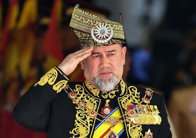 Król Malezji Muhammad V