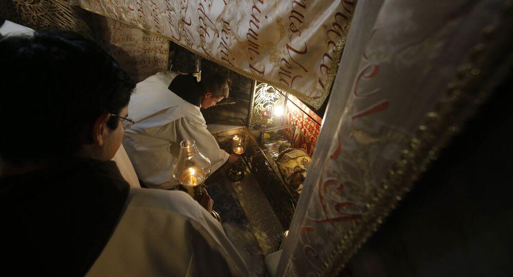 Pasterka w Betlejem