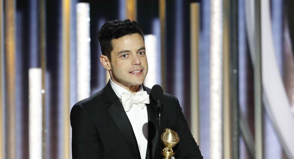 Rami Malek zdobył Złoteog Globa jako najlepszy aktor