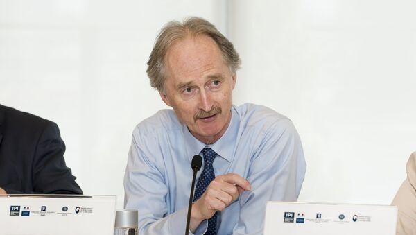 Specjalny wysłannik ONZ ds. Syrii Geir Pedersen - Sputnik Polska