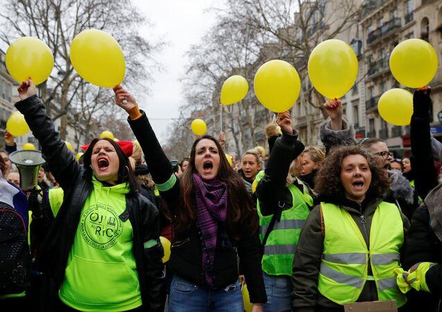 Protesty żółtych kamizelek w Paryżu, 6 stycznia 2019
