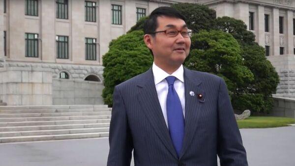 Specjalny doradca ds. polityki zagranicznej premiera Shinzo Abe Katsuyuki Kawai - Sputnik Polska