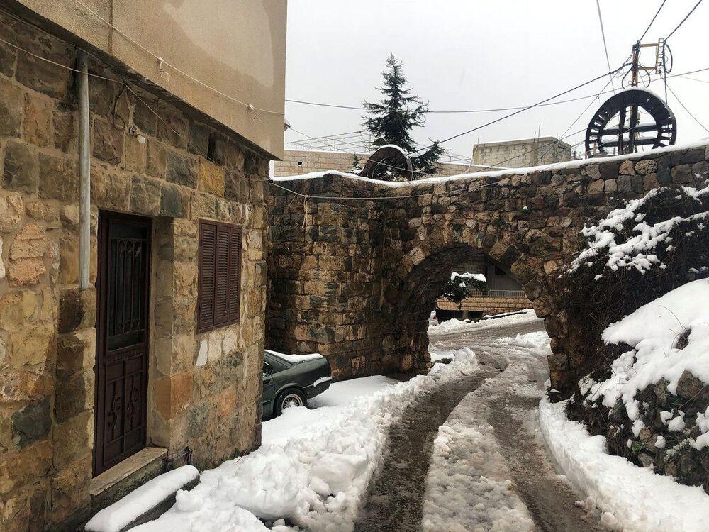 Śnieg w Libanie