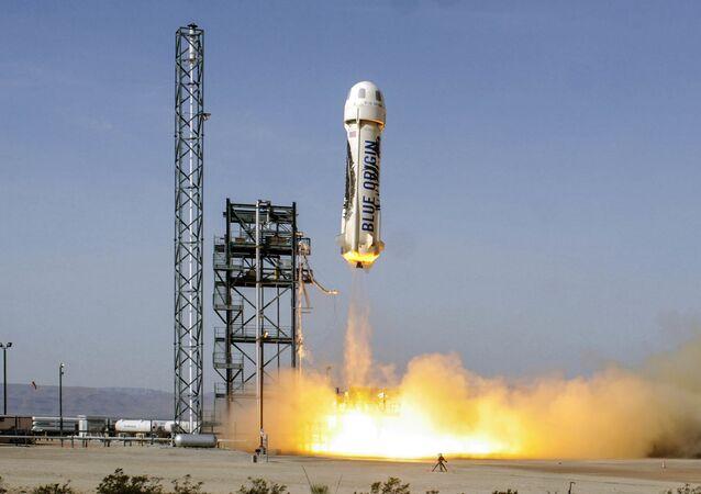 Statek kosmiczny New Shepard.