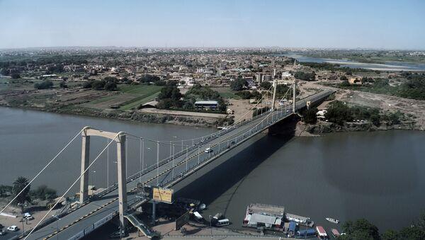 Widok na stolicę Sudanu Chartum - Sputnik Polska