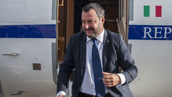 Matteo Salvini - Sputnik Polska