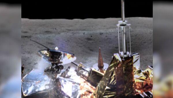 Zdjęcia z obrotnej strony Księżyca - Sputnik Polska