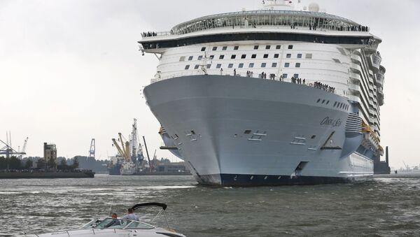 Statek wycieczkowy Oasis of the Seas - Sputnik Polska