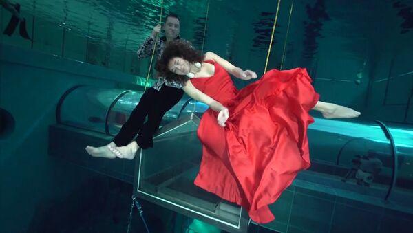 Taniec pod wodą - Sputnik Polska