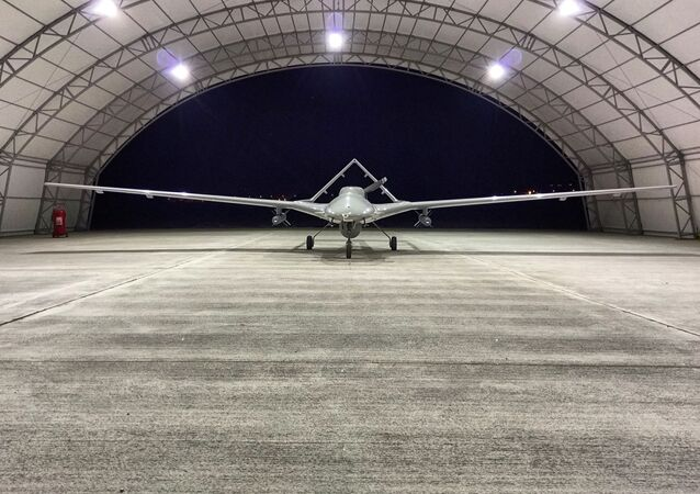 Tureckich dron uderzeniowy Bayraktar TB2