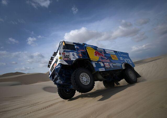 Kamaz Master podczas rajdu Dakar