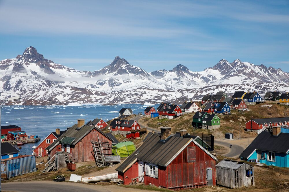 Miasteczko Tasiilaq, Grenlandia