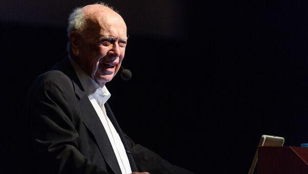 Laureat Nagrody Nobla w dziedzinie fizjologii i medycyny, odkrywca struktury DNA, dr James Watson. Zdjęcie archiwalne - Sputnik Polska