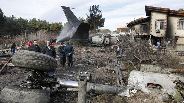 Katastrofa samolotu towarowego Boeing 707 w Iranie - Sputnik Polska