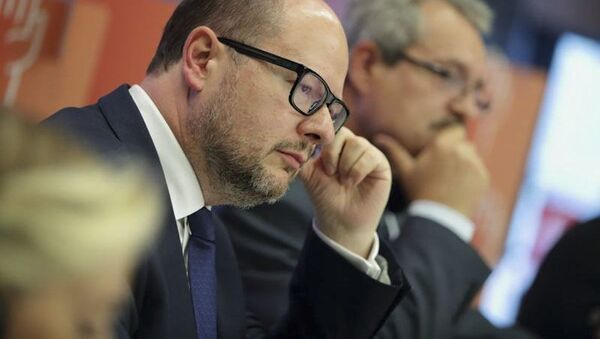 Prezydent Gdańska Paweł Adamowicz - Sputnik Polska