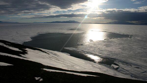 Topnienie lodu, Antarktyda - Sputnik Polska