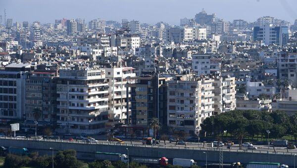 Miasto Latakia w Syrii na wybrzeżu Morza Śródziemnego - Sputnik Polska