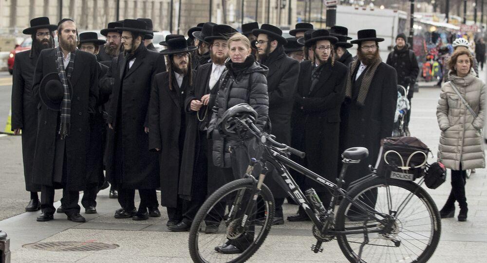 Żydzi przed Białym Domem