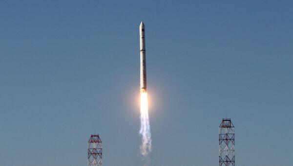 Start rakiety nosnej Zenit z aparatem Spektr-R - Sputnik Polska