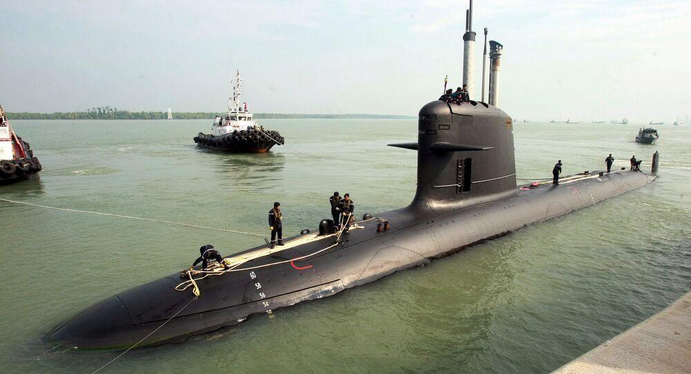 Francuski okręt podwodny typu Scorpène