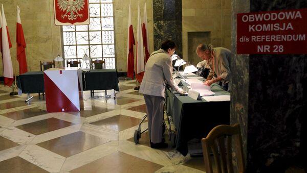 Referendum w Polsce - Sputnik Polska