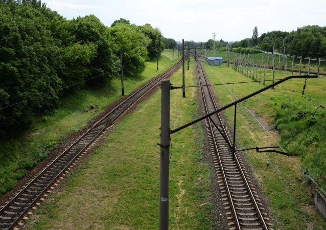 Kolej w Doniecku