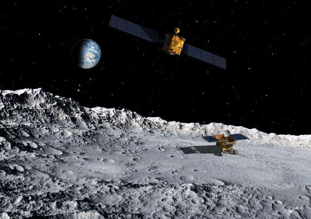 """Chińska stacja międzyplanetarna """"Chang'e-4"""""""